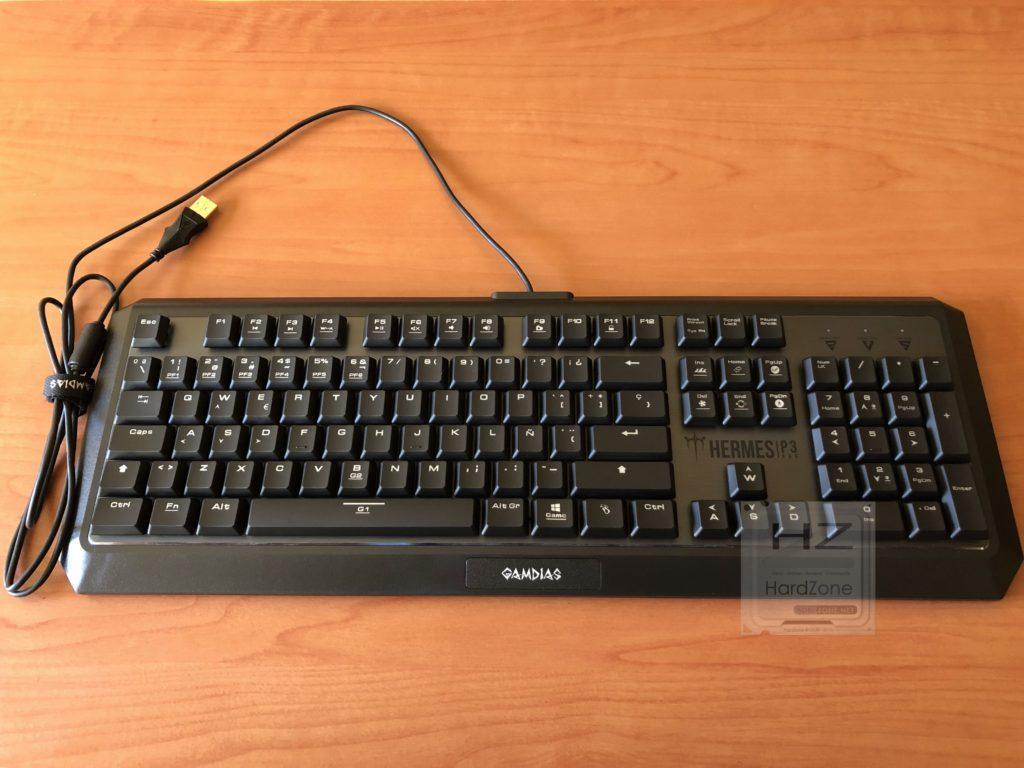 Primer vistazo teclado GAMDIAS Hermes P3