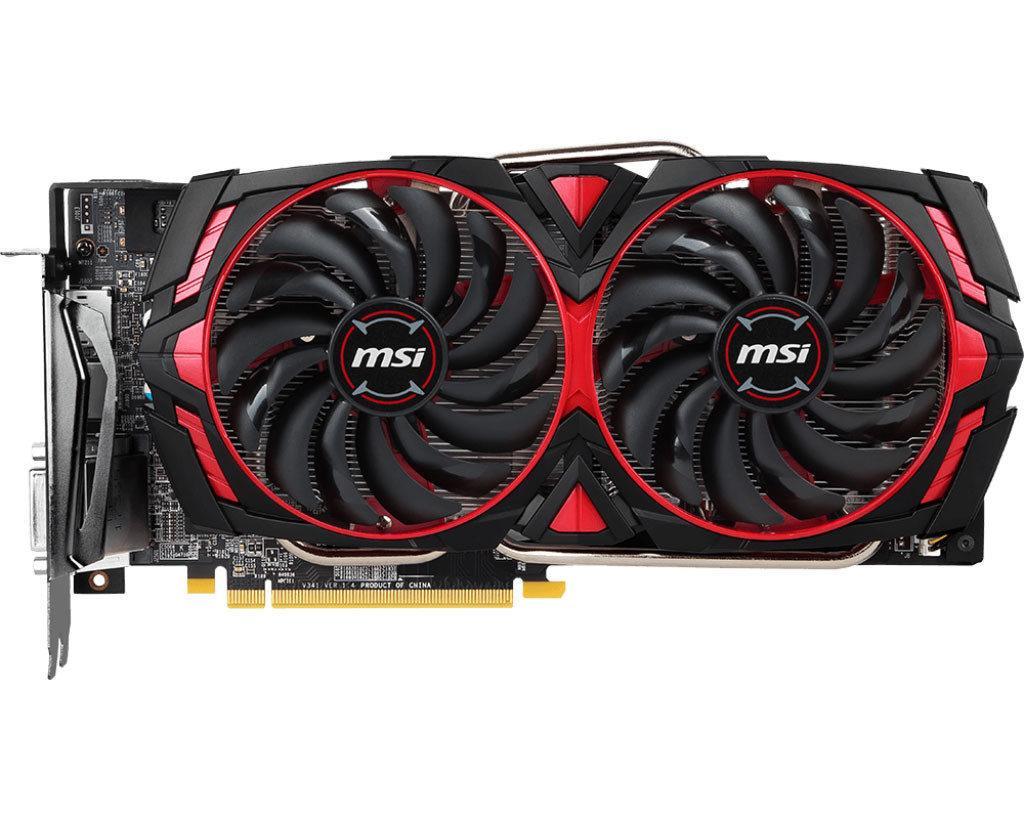 NEW MSI Radeon RX 570 ARMOR 8G OC 8GB GDDR5 256-bit Polaris 20 XL Video Card