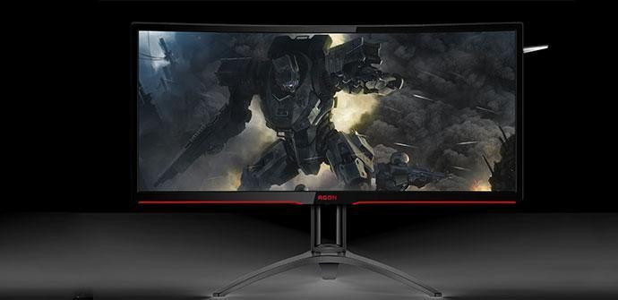 AOC monitor curvo gaming
