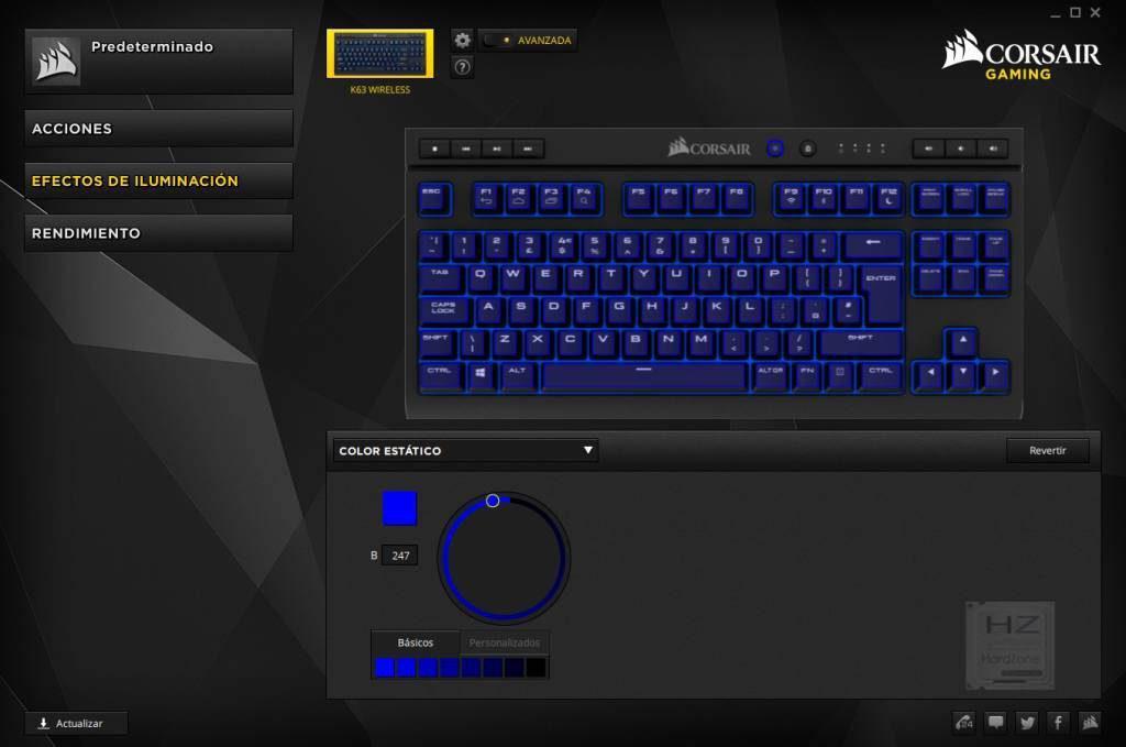 Corsair CUE - Configurar K63