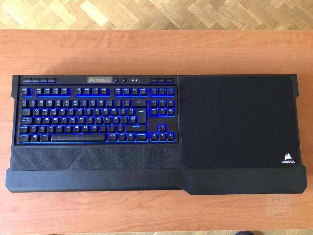Corsair K63 Gaming Lapboard - Vista general