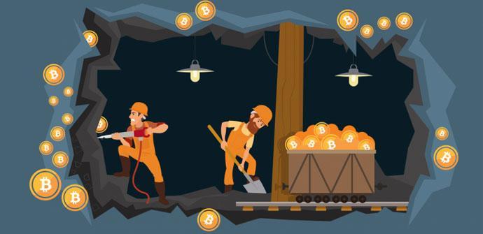 mineros de criptomonedas