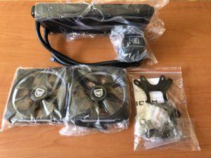 Nfortec Hydrus 240 - Contenido caja