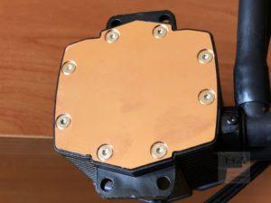 Nfortec Hydrus 240 - Disipador bomba