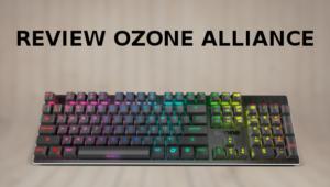 Review: Ozone Alliance, un teclado gaming híbrido con iluminación RGB que reacciona con el sonido