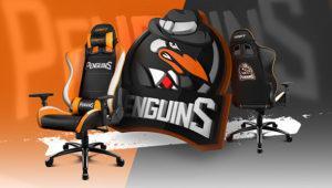 Drift Penguins Special Edition: nueva silla gaming inspirada en los eSports