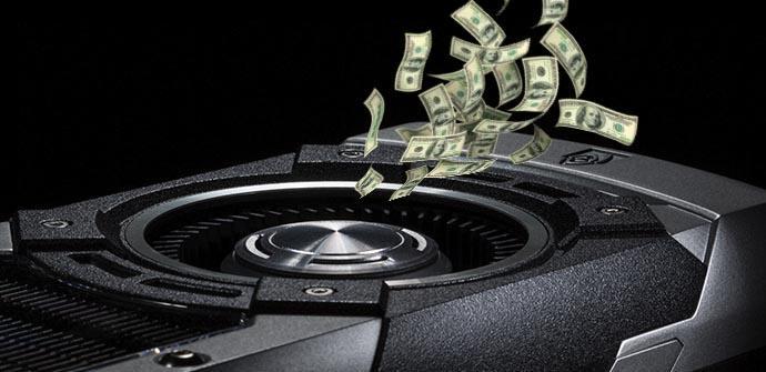 nvidia precio gráficas subir 2018