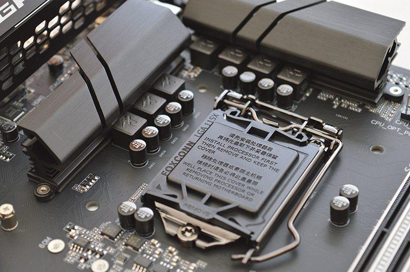 Procesador LGA cubierta del socket