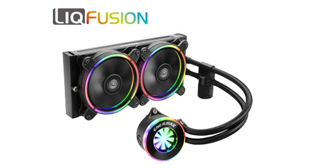 Ver noticia 'Enermax LiqFusion: nueva líquida con medidor de caudal y RGB'