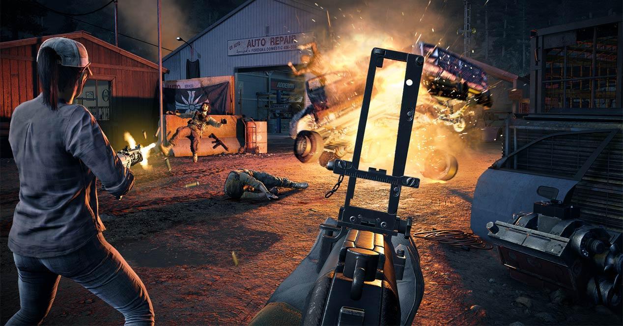 Far Cry 5 rendimiento gráfico