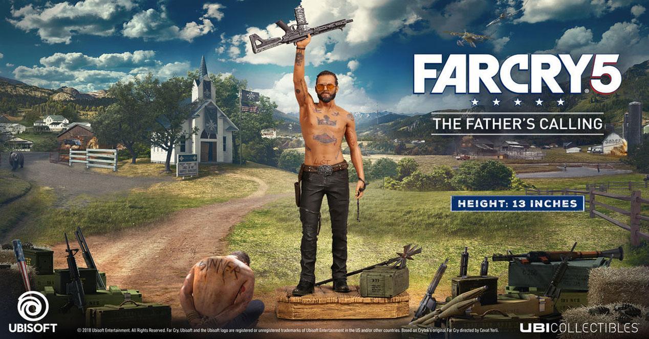Far Cry 5 ventan en Steam