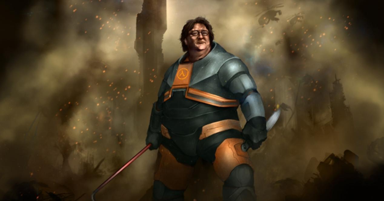 Gabe Newell Half Life