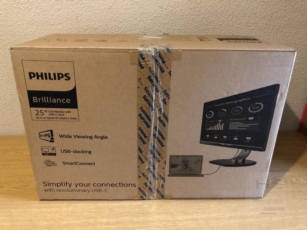 Philips Brilliance 258B6QUEB - Caja