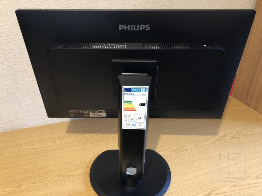 Philips Brilliance 258B6QUEB - Vista trasera