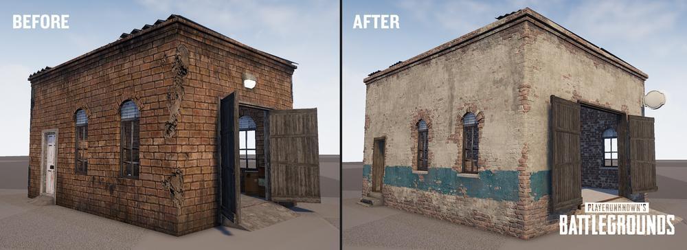 Renderizado casas PUBG 2018