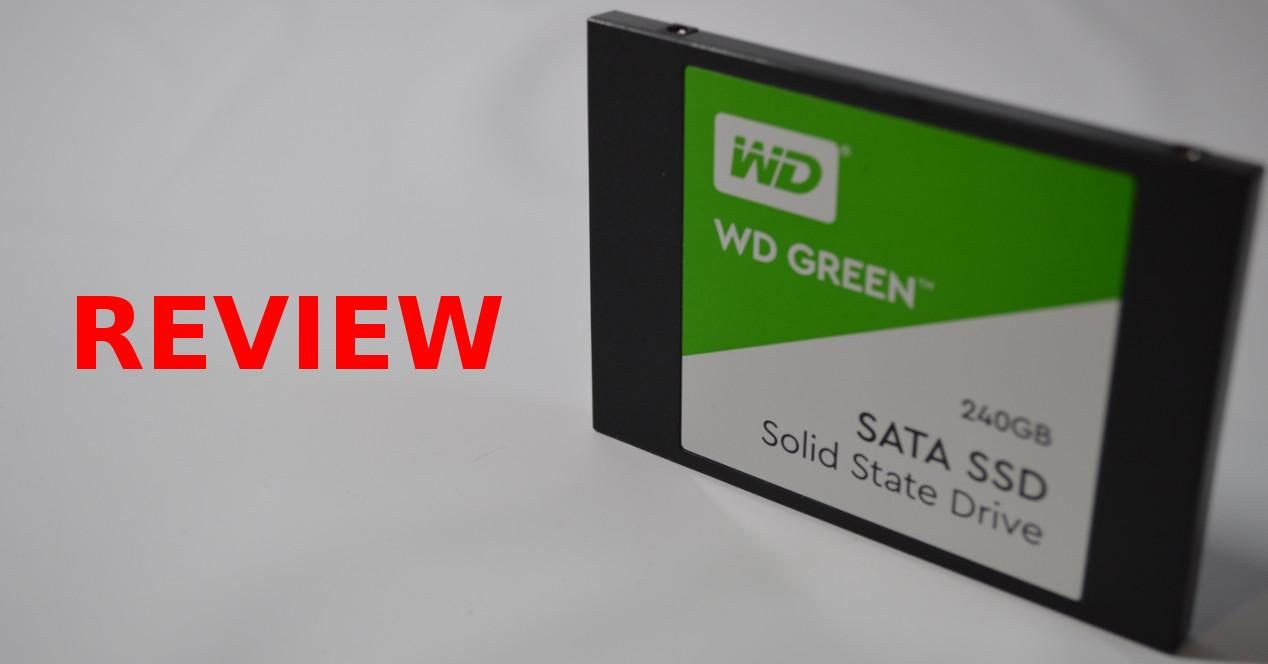 Review SSD WD Green