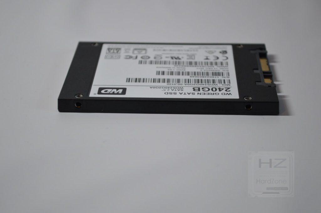 SSD Western Digital Green 240 GB - SSD vista 3