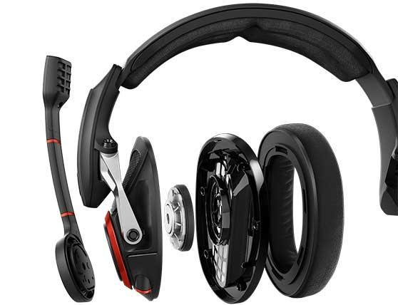 Estructura auriculares gaming