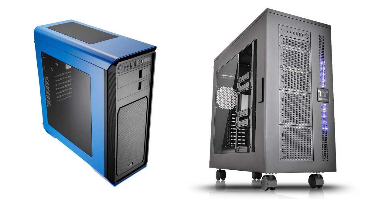 cajas de ordenador formato