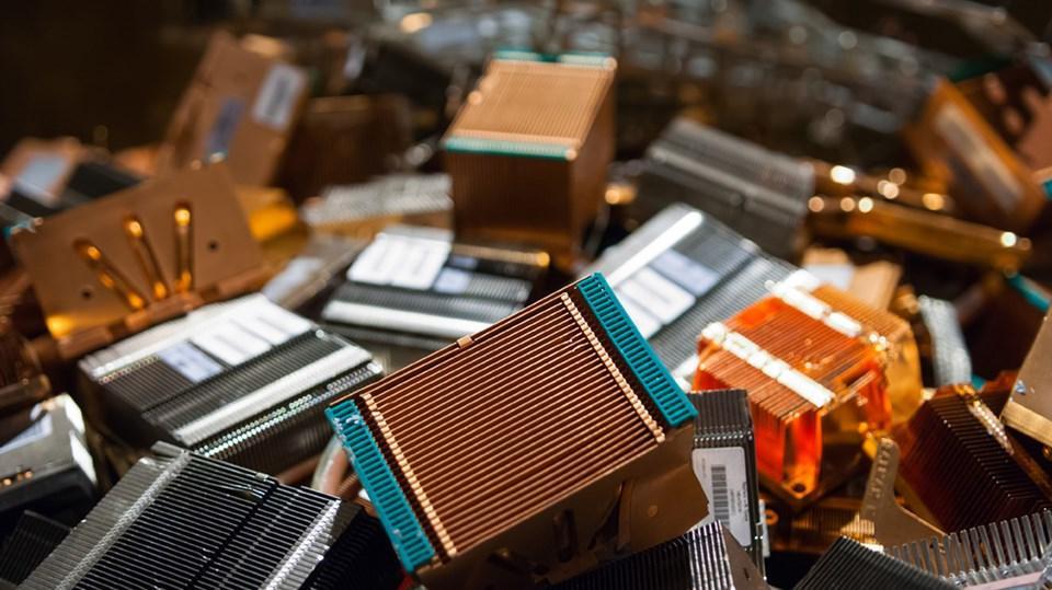 componentes electronico reciclados