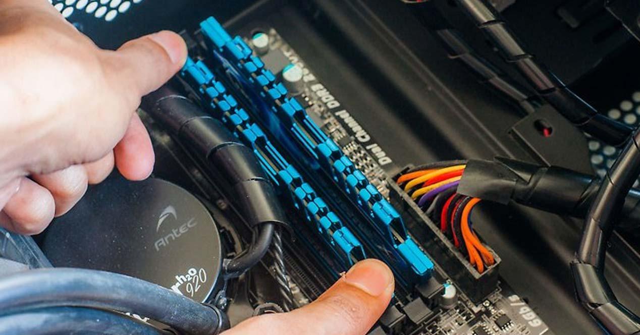 actualizar la memoria RAM