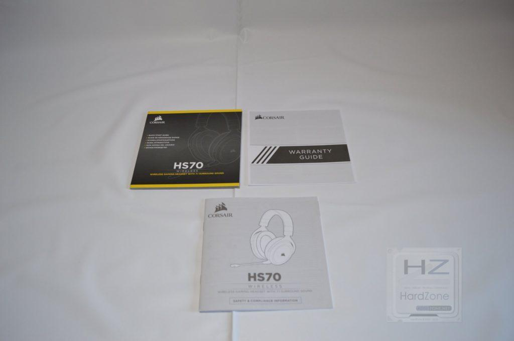 Corsair HS70 - Instrucciones