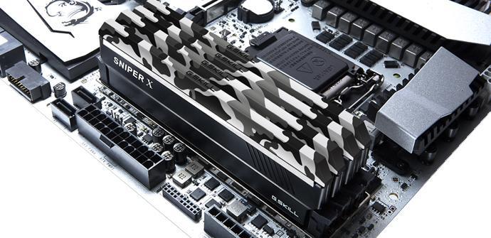 Ver noticia 'Análisis: G.Skill Sniper X DDR4 3600 Mhz White Camo'