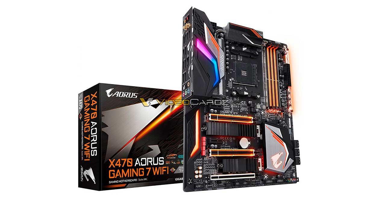 Ver noticia 'Filtradas las nuevas placas base Gigabyte Aorus X470 Gaming'