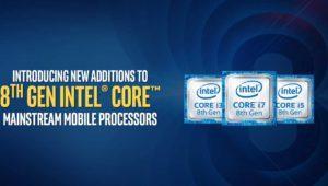 Intel completa los procesadores y placas base de su 8ª Generación con nuevos modelos para escritorio y portátiles