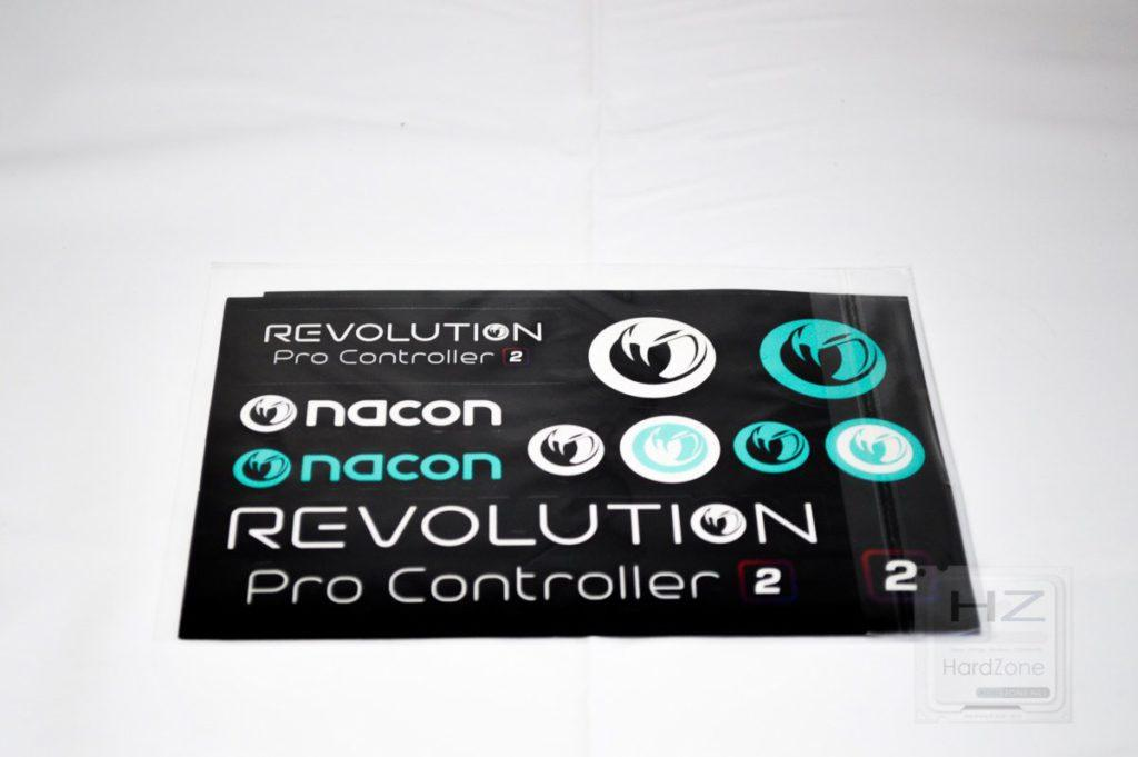 NACON Revolution Pro Controller 2 - Pegatinas