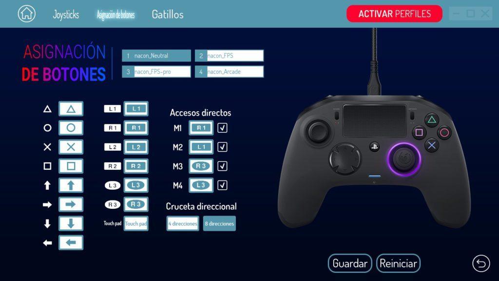 NACON Revolution Pro Controller 2 - Software PC - Asignar botones