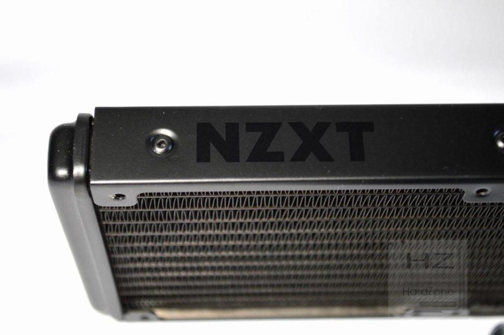 Refrigeración líquida NZXT KRAKEN X72 - Logo NZXT radiador