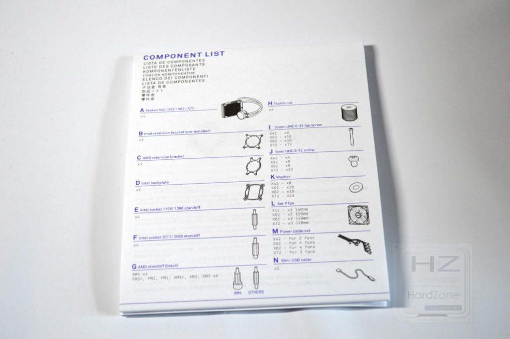 Refrigeración líquida NZXT KRAKEN X72 - Manual