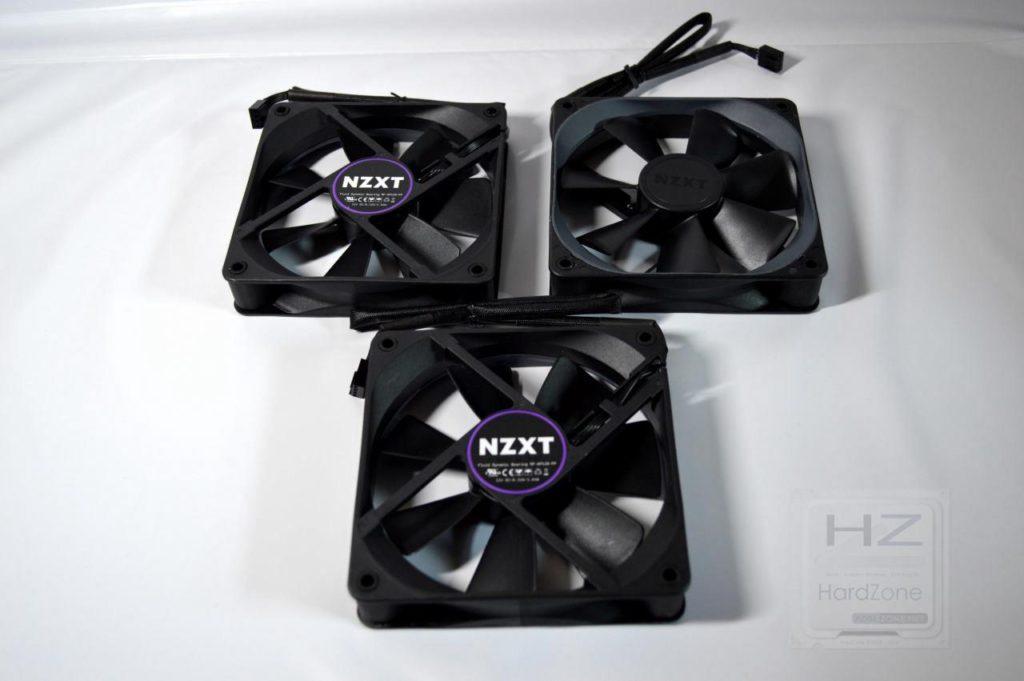 Refrigeración líquida NZXT KRAKEN X72 - Ventiladores 2