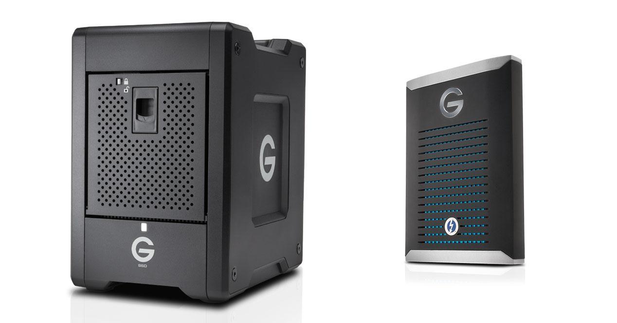 Western Digital G-SPEED y G-Drive edit