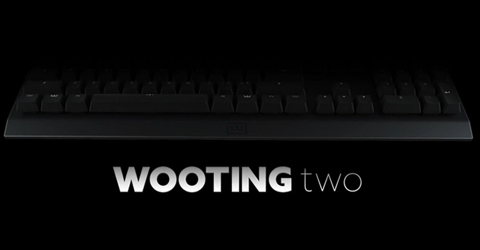 Wooting two, teclado gaming analógico