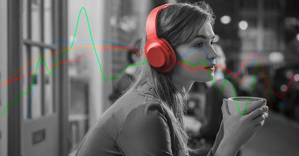 frecuencia de respuesta auriculares altavoces
