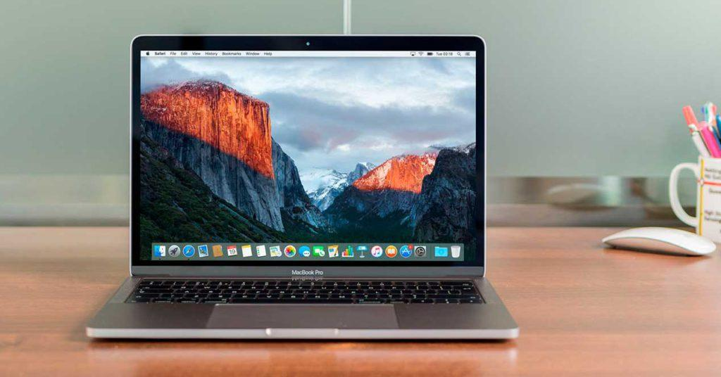 macbook pro no mas de 16 gb