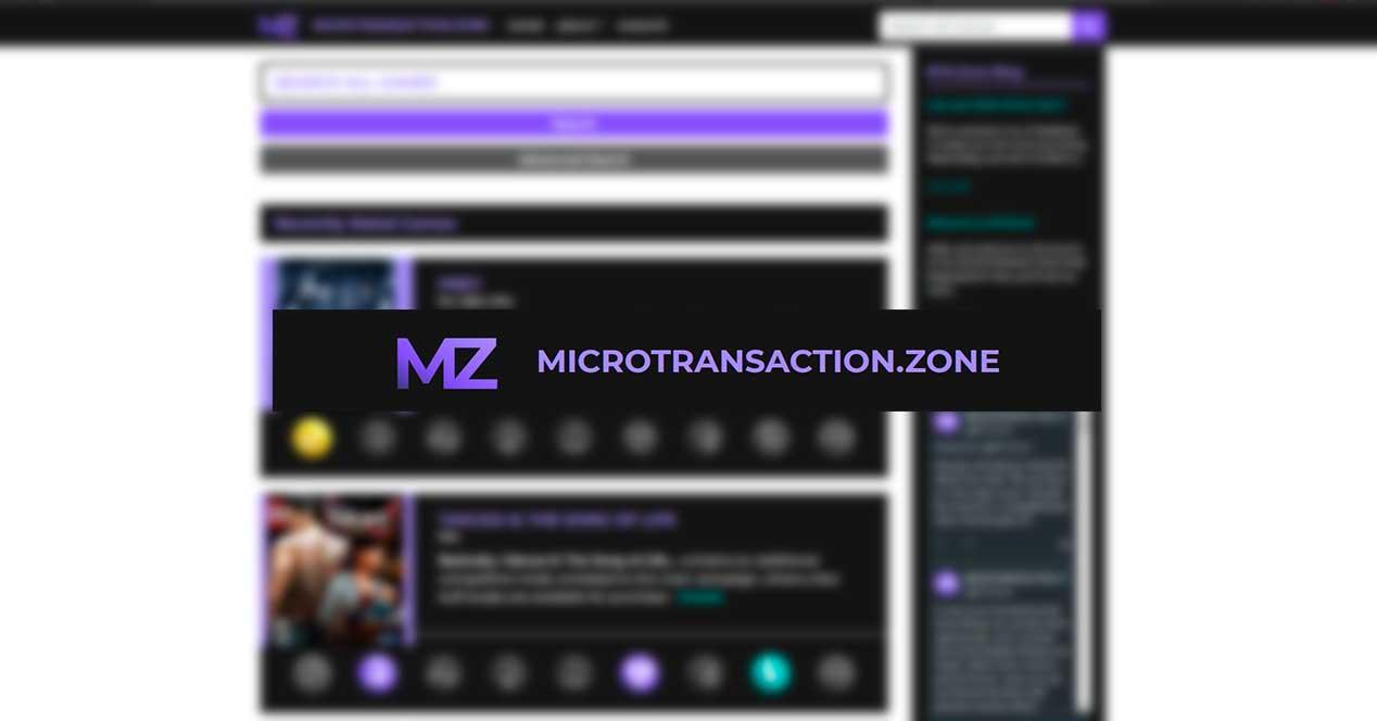 microtransacciones web microtransaction.zone