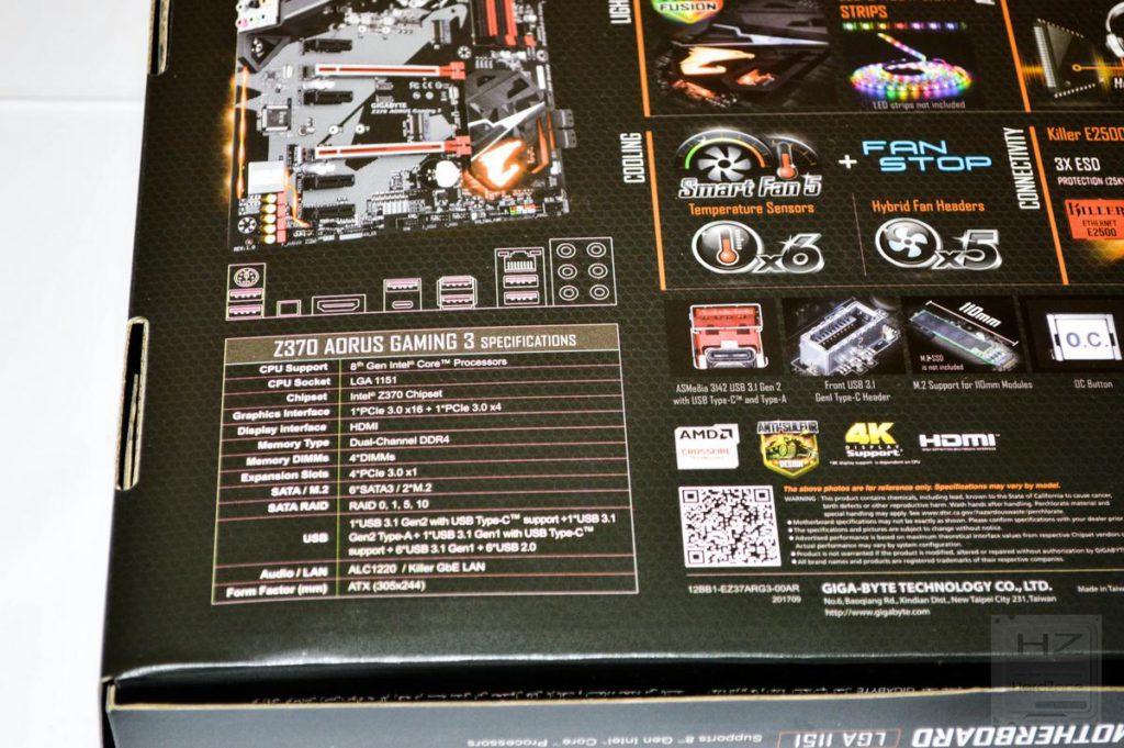 AORUS Z370 Gaming 3 - 03