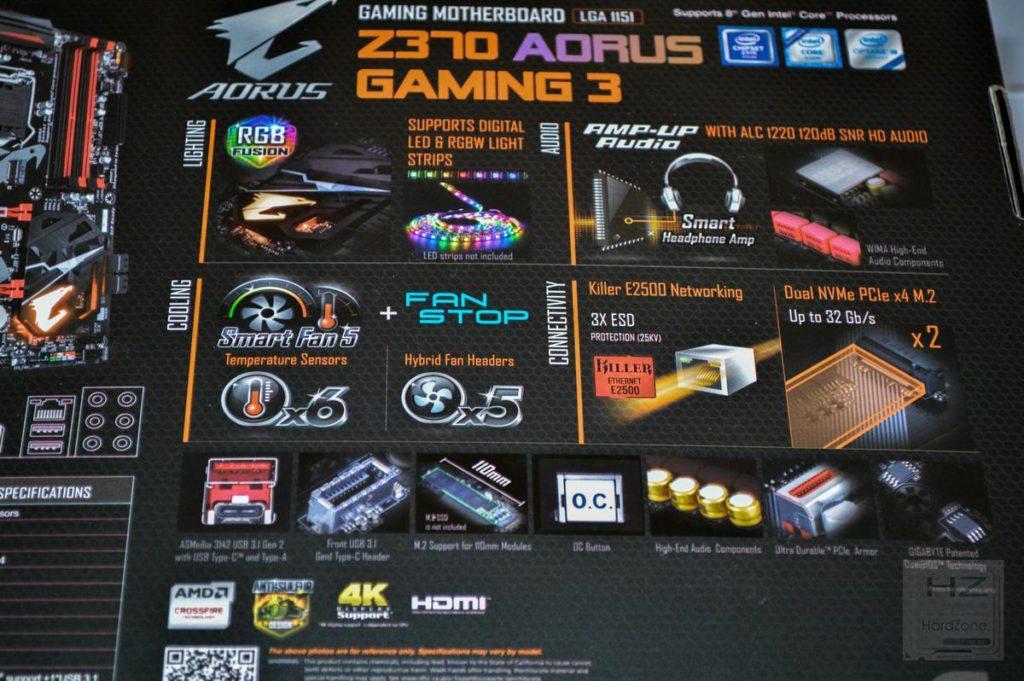 AORUS Z370 Gaming 3 - 04