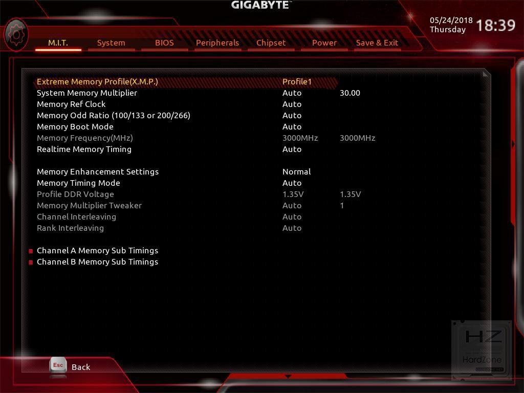 AORUS Z370 Gaming 3 - BIOS 3