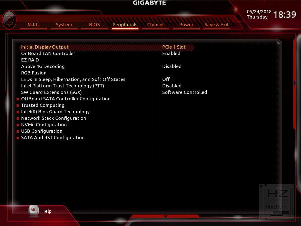 AORUS Z370 Gaming 3 - BIOS 5