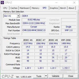 AORUS Z370 Gaming 3 - CPUZ 3
