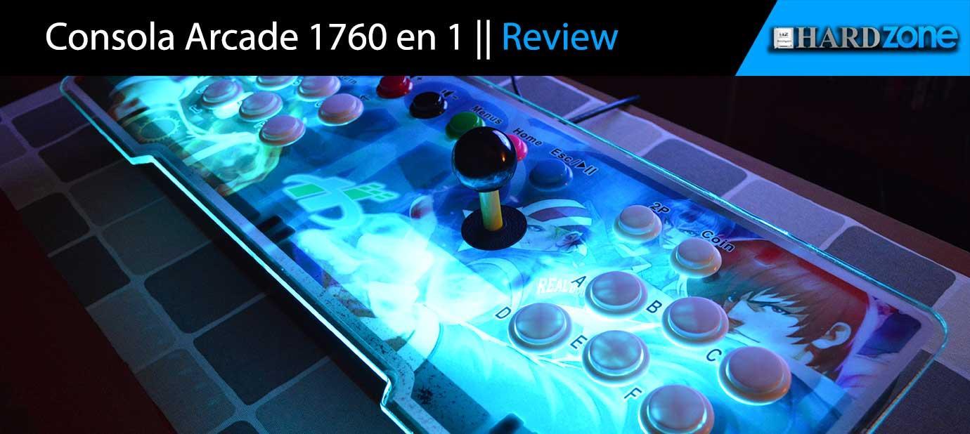 Ver noticia 'Análisis: Consola arcade 1760 en 1'
