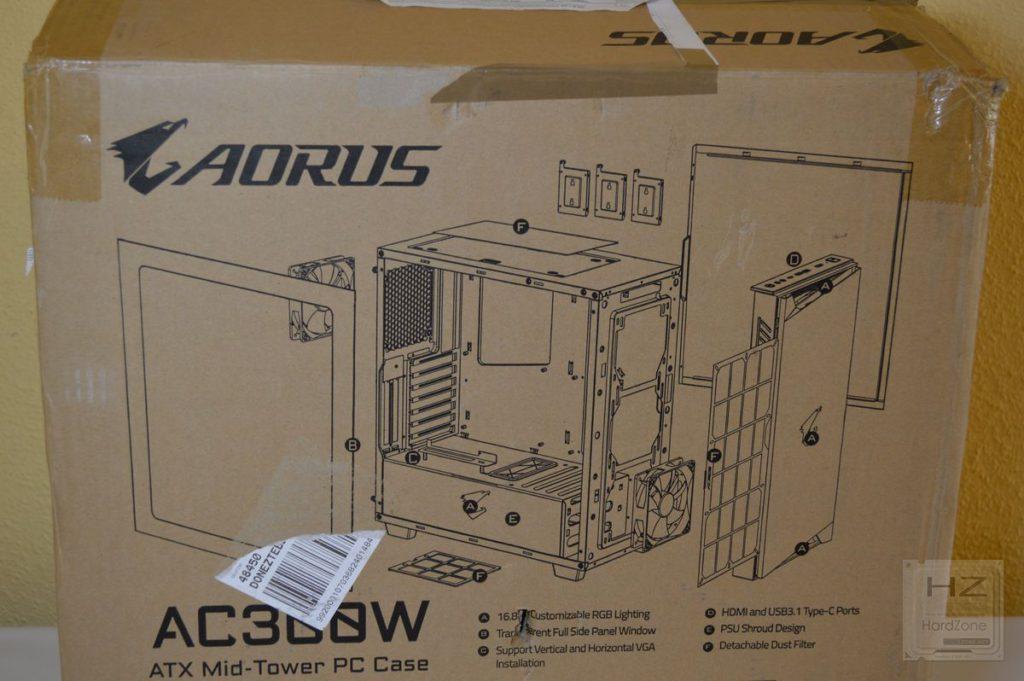 Aorus AC300W - Caja 4