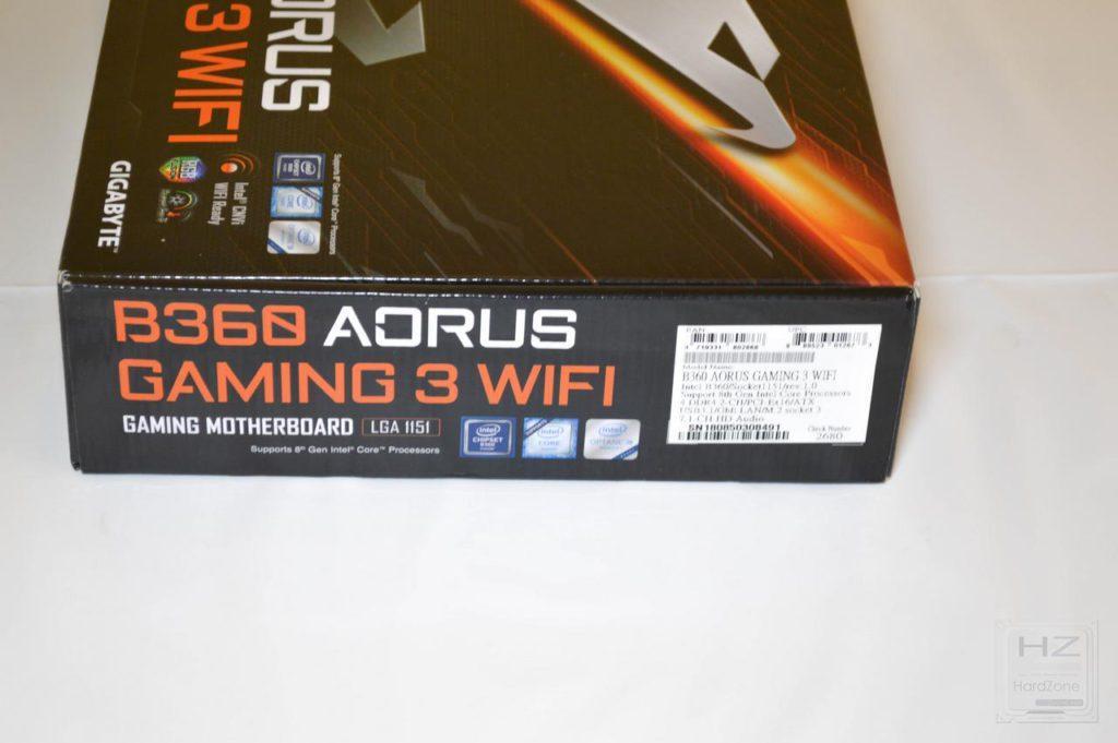 AORUS B360 GAMING 3 WIFI-3