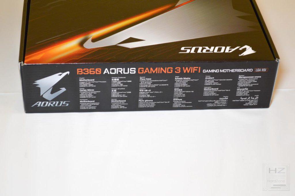 AORUS B360 GAMING 3 WIFI-4