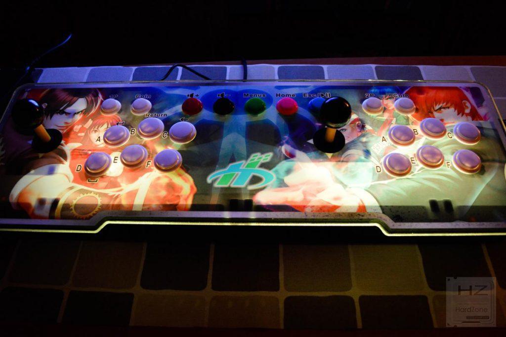 Consola arcade 1760 en 1 - Iluminación 2