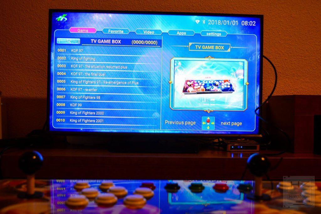 Consola arcade 1760 en 1 - Lista Juegos